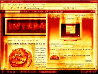 Fire Free Screensaver