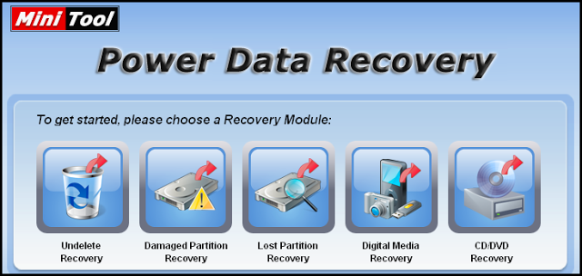 MiniTool Power Data Recovery 6.8