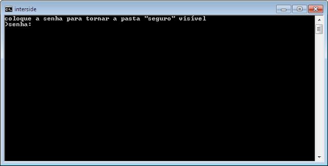 Como esconder pastas e arquivos sem usar programa